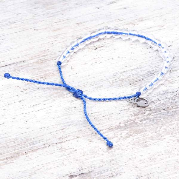 100% Recycled '4Ocean Blue - Signature' Bracelet. Bohemian Jewellery. Indie and Harper
