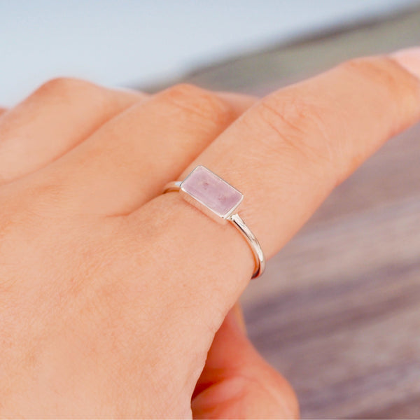 Amour Morganite Ring. Bohemian Jewellery. Indie and Harper