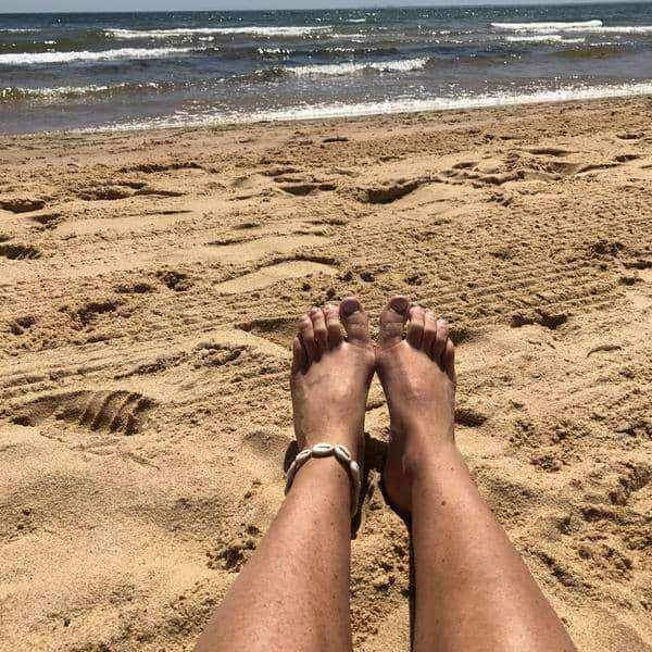 Cowrie Sea Shell Anklet - Indie and Harper. Bohemian Gypsy Festival Jewellery. www.indieandharper.com