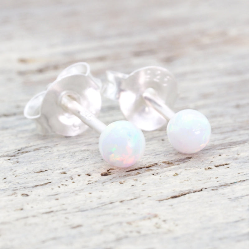 Dainty Mermaid Opal Earrings. Bohemian Jewellery. Indie and Harper