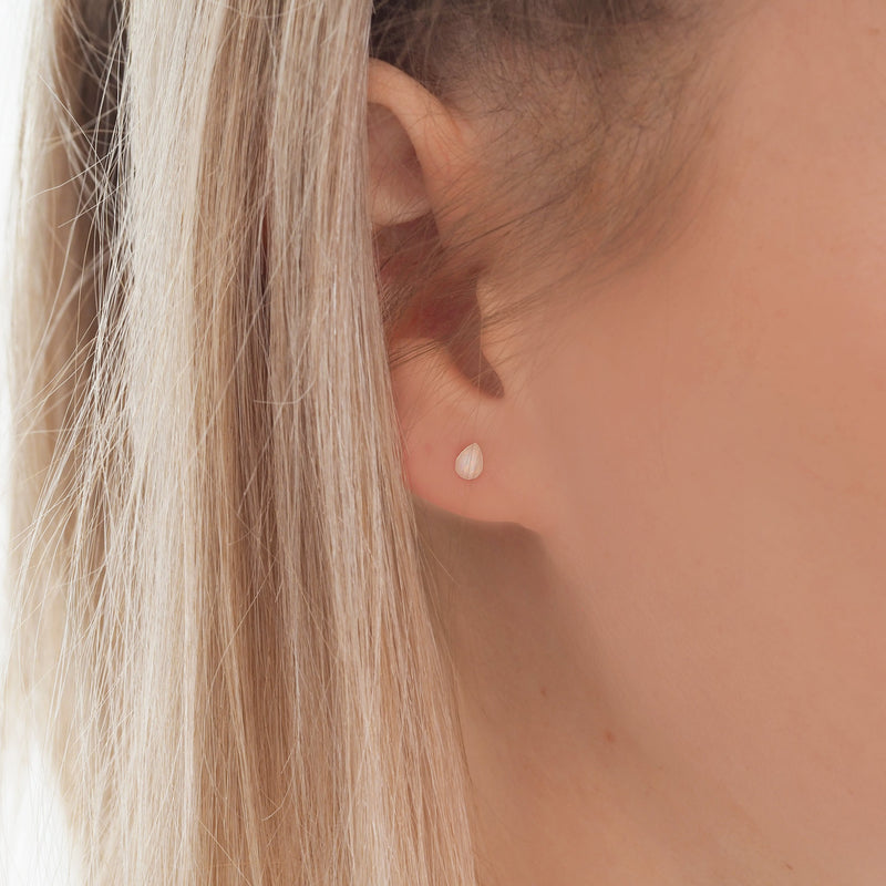 Dainty Opal Droplet Earrings. Bohemian Jewellery. Indie Harper