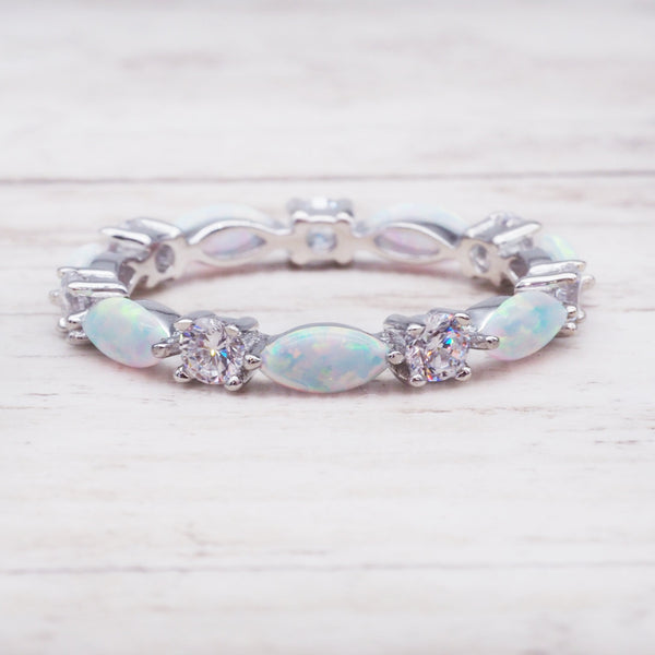 Everlasting Opal Ring. Bohemian Jewellery. Indie and Harper