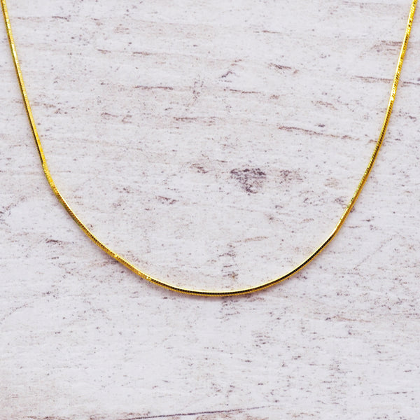 Gold Snake Chain Necklace - Women's Jewellery - Indie and Harper