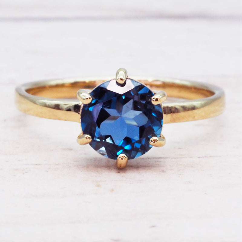 Gold Topaz Ring - Women's Jewellery - Indie and Harper