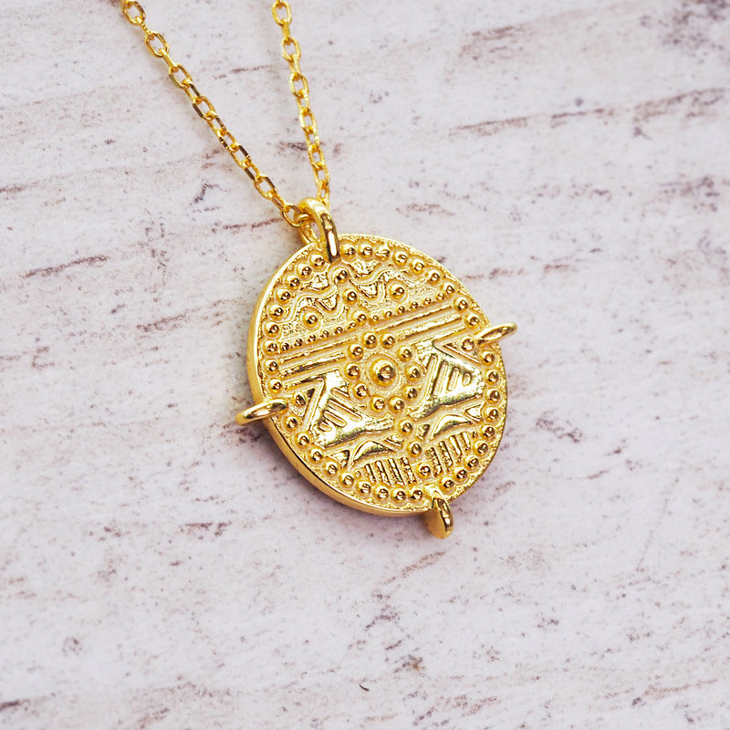 Gold Vista Necklace - Women's Jewellery - Indie and Harper