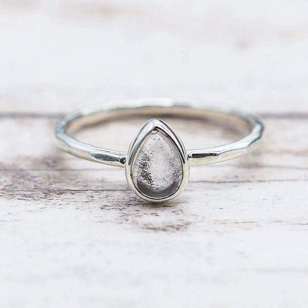 Herkimer Ring. Bohemian Jewellery. Indie and Harper