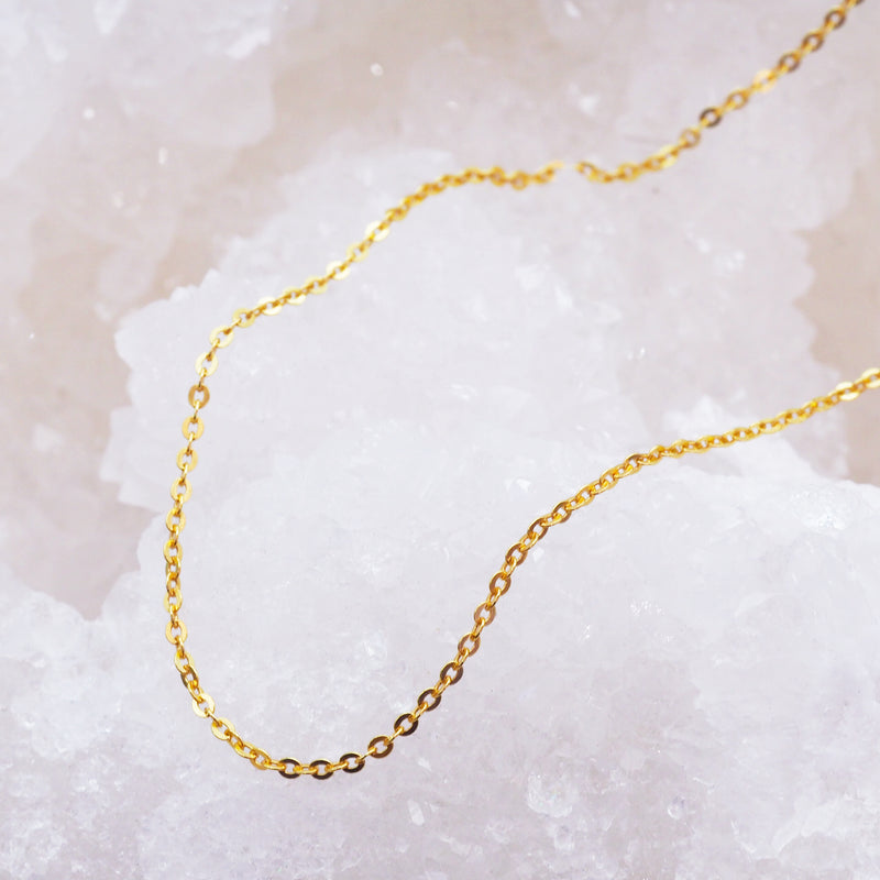 Italian Gold Anklet - Women's Jewellery - Indie and Harper