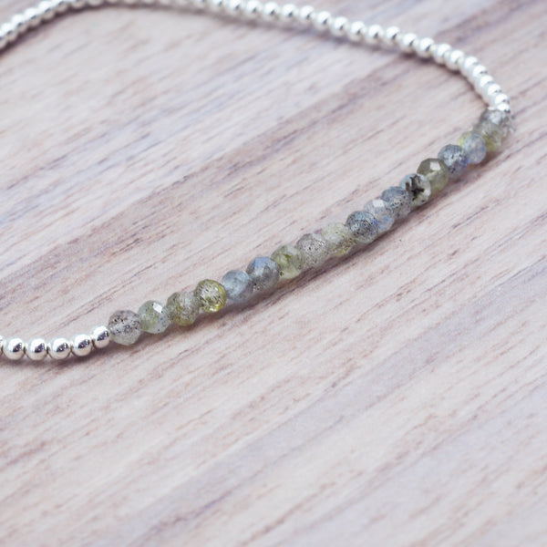Labradorite Bracelet - Women's Jewellery - Indie and Harper