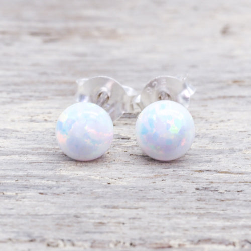 Mermaid Opal Earrings