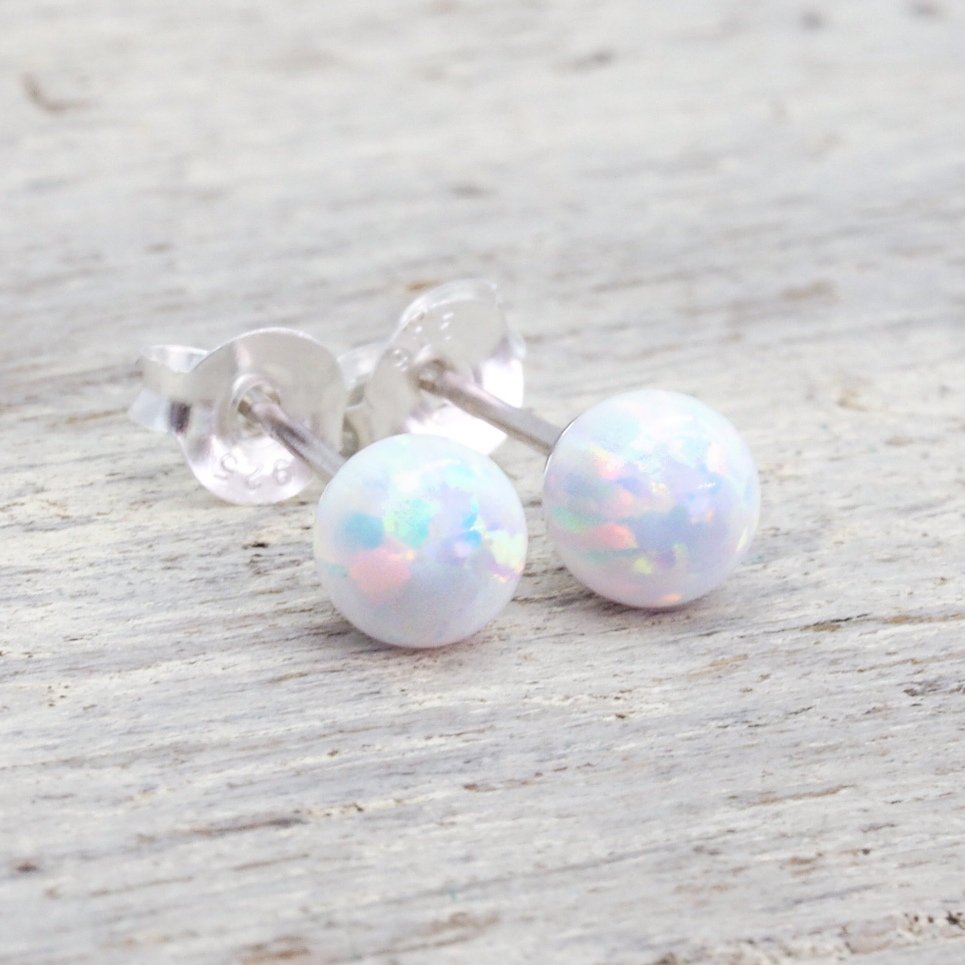 Mermaid Opal Earrings| bohemian gypsy festival jewellery| indie and harper