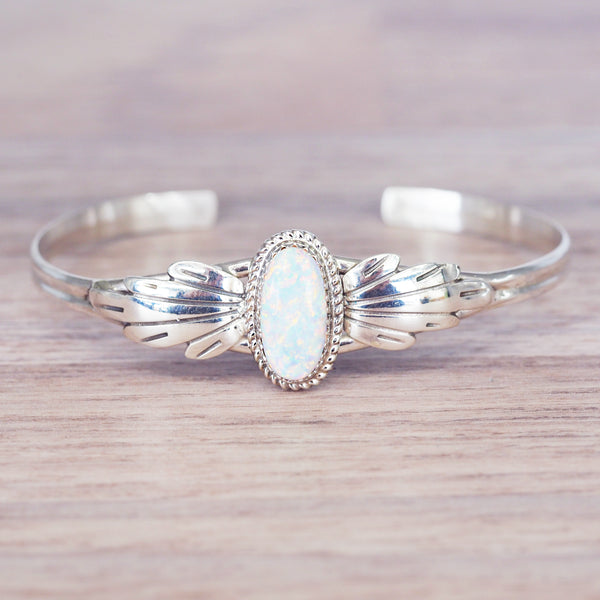 Navajo Opal Cuff - Women's Jewellery - Indie and Harper