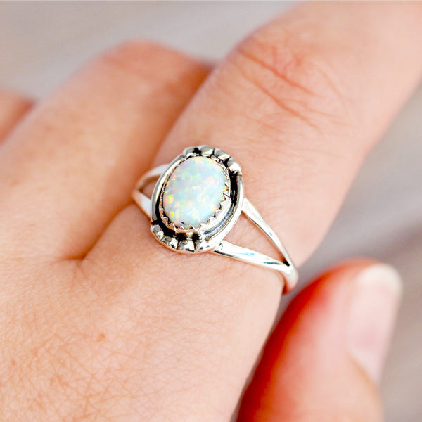 Navajo Opal Ring - Women's Jewellery - Indie and Harper