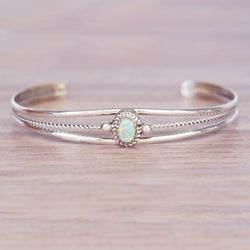 Navajo Opal Twist Cuff - Women's Jewellery - Indie and Harper