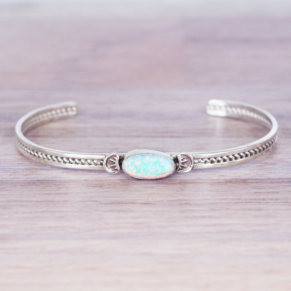 Navajo Opal Bracelet. Women's Jewellery. Indie and Harper