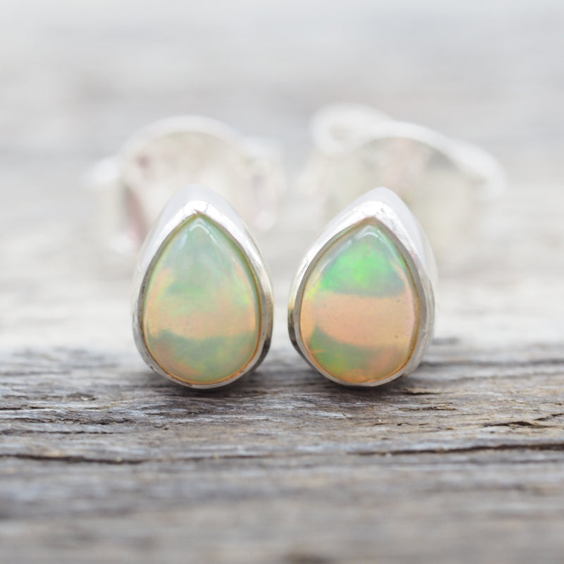 Opal Earrings. Bohemian Jewellery. Indie and Harper