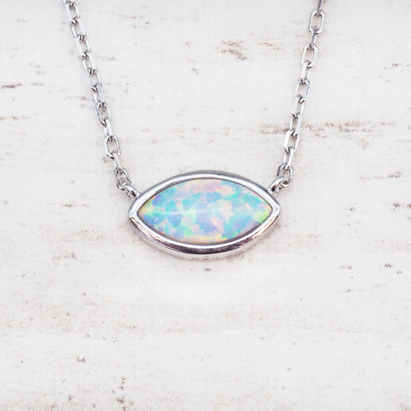 Opal Stellar Necklace. Bohemian Jewellery. Indie and Harper