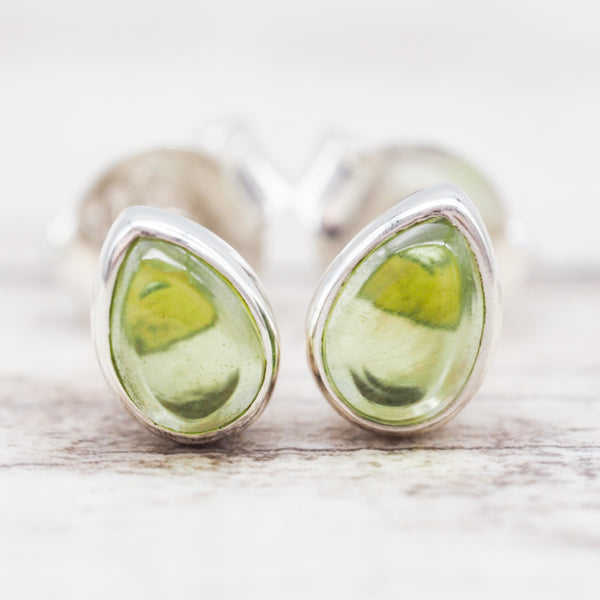 Peridot Earrings. Bohemian Jewellery. Indie and Harper