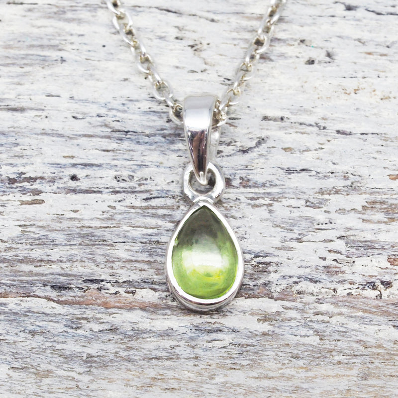 Peridot Pendant Necklace. Bohemian Jewellery. Indie and Harper