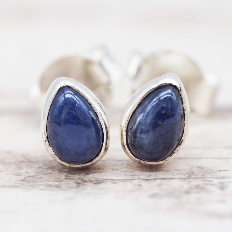 Sapphire Earrings. Bohemian Jewellery. Indie and Harper