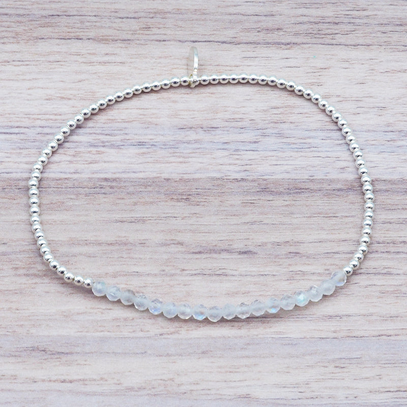 Moonstone Bracelet - Women's Jewellery - Indie and Harper