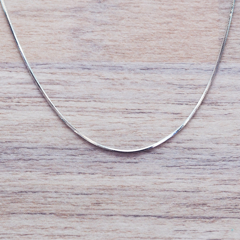 Silver Snake Chain Necklace - Women's Jewellery - Indie and Harper