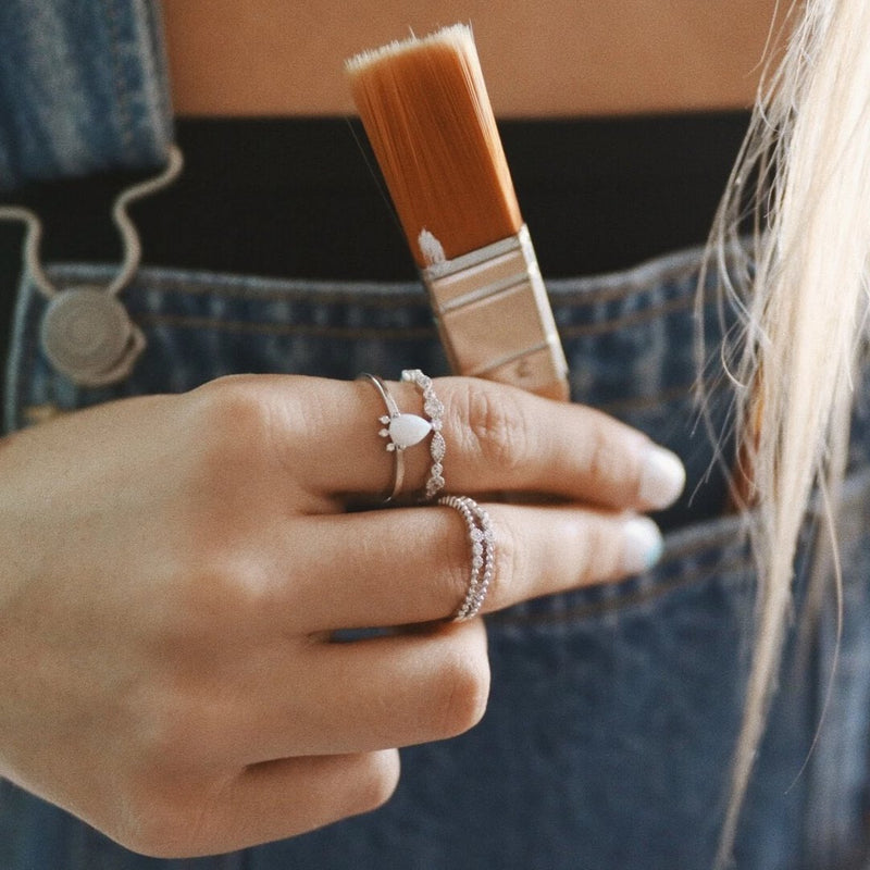 Silver 'Serpens' Ring. Bohemian Jewellery. Indie and Harper