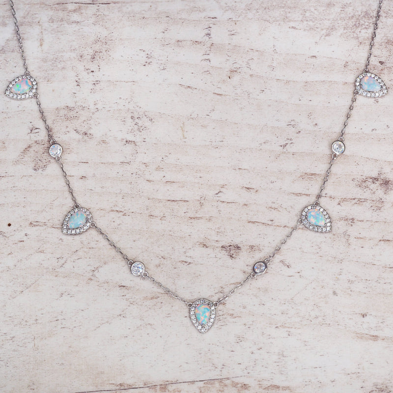 Stardust Opal Necklace. Bohemian Jewellery. Indie and Harper