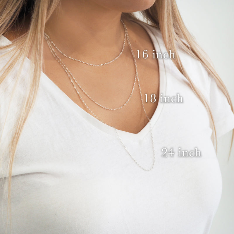 Sterling Silver Chain - Indie and Harper. Bohemian Gypsy Festival Jewellery. www.indieandharper.com