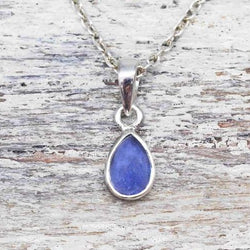 Tanzanite Pendant Necklace. Bohemian Jewellery. Indie and Harper