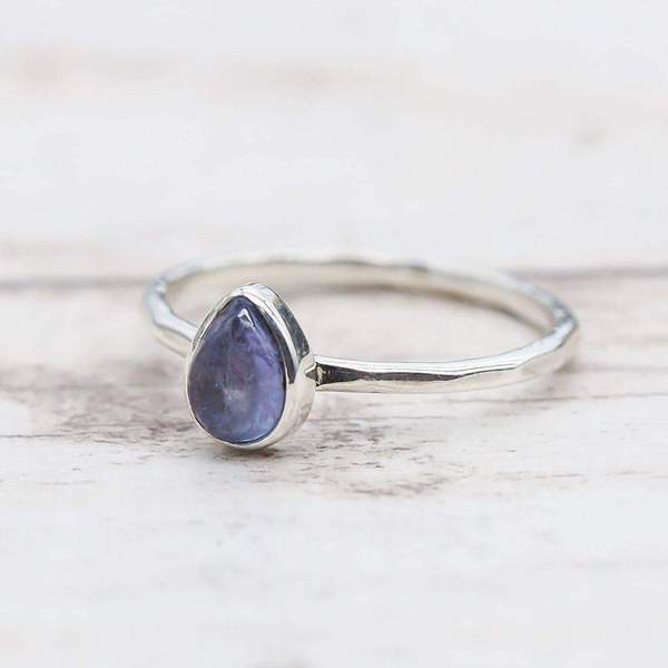 Tanzanite Ring. Bohemian Jewellery. Indie and Harper