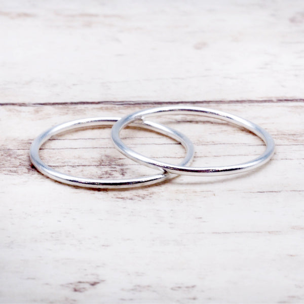 Thin Stacker Ring. Bohemian Jewellery. Indie and Harper