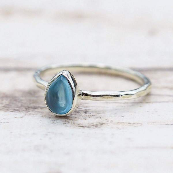 Topaz Ring. Bohemian Jewellery. Indie and Harper