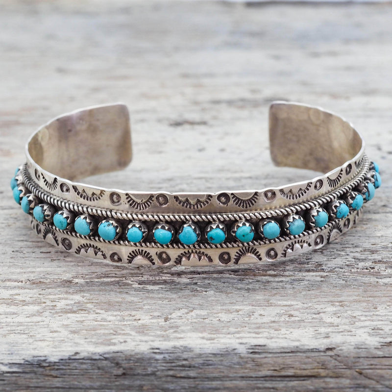 Zuni Turquoise Cuff. Navajo Jewellery. Indie and Harper