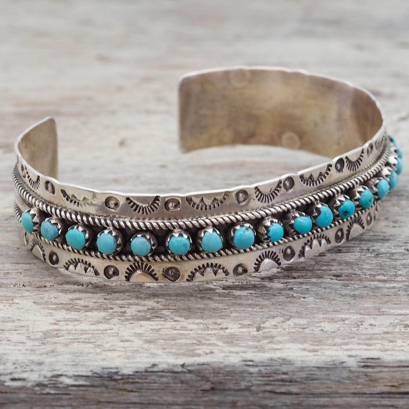 Zuni Turquoise Cuff. Bohemian Jewellery. Indie and Harper
