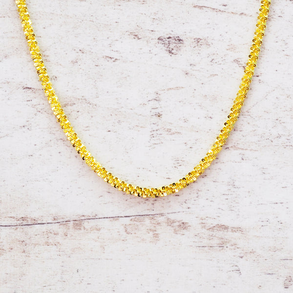 i+h Gold Choker - Women's Jewellery - Indie and Harper