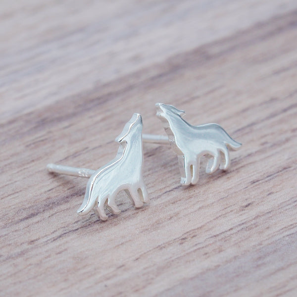 i+h Kids Wolf Studs - Kids Jewellery - Indie and Harper