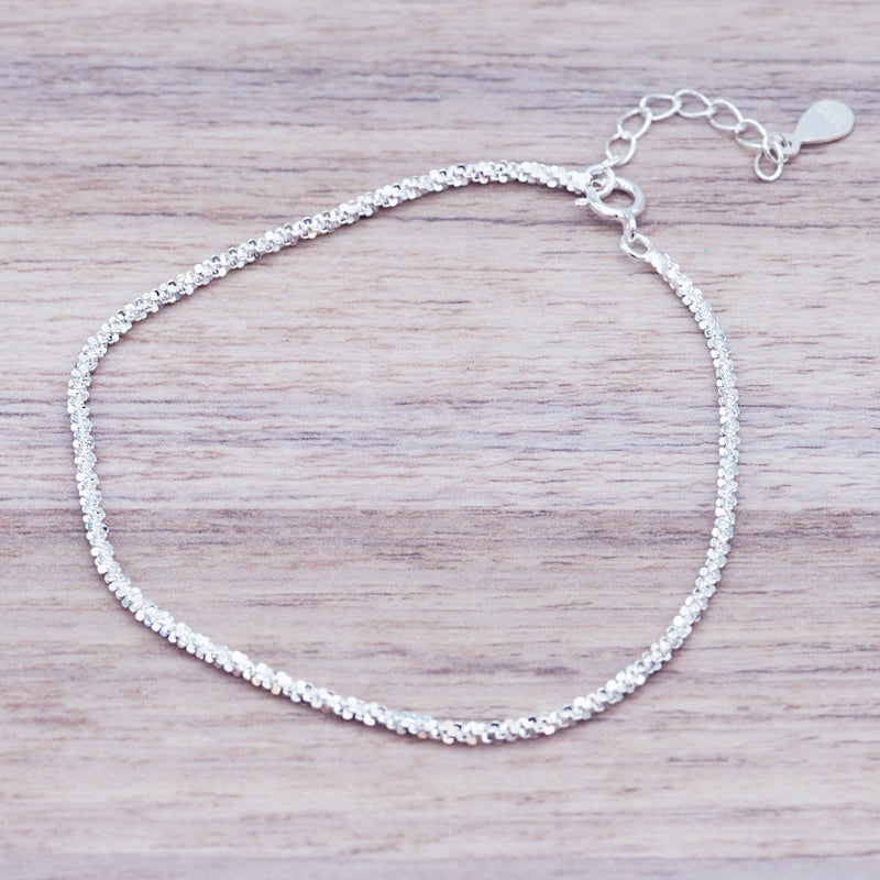i+h Sterling Silver Bracelet - Women's Jewellery - Indie and Harper