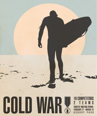 Ace Rivington Sponsors Cold War Surf Contest Asbury Park, NJ