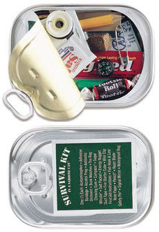 Whistle Creek Survival Kit in a Sardine Can