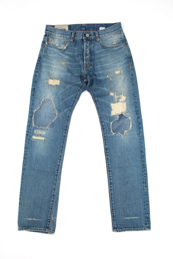 PT-17 Slim Tapered Denim - History Wash