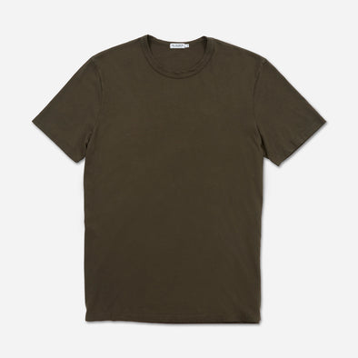 "Super Soft ""Supima"" Cotton Tee - Military"