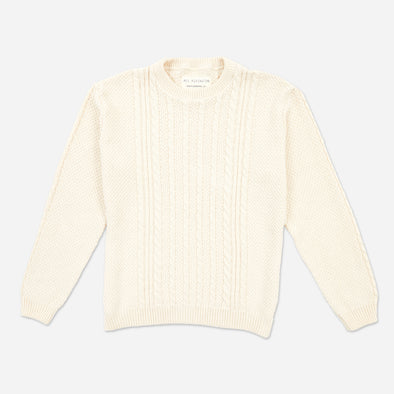 Fisherman's Cable Knit Sweater