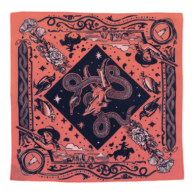 Bandits Bandanas - Rattle and Hiss