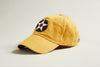Pre-WWII Stearman Roundel Cap  (Burnt Yellow)
