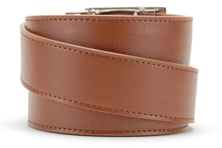 Essential Classic Walnut Dress Belt
