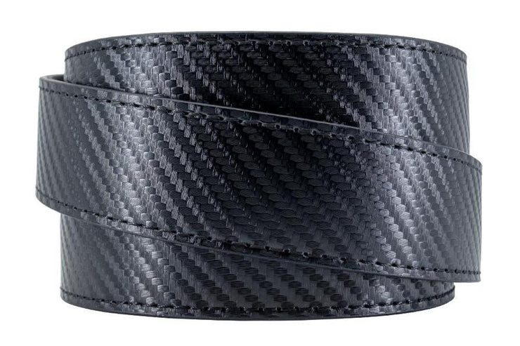 "Nexbelt Belt Black / Fits up to 50"" waist Defender Black Carbon PreciseFit™ Gun Belt"
