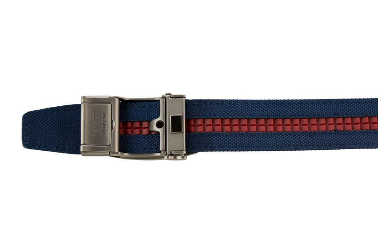 "Nexbelt Casual Belt Navy / Fits up to 50"" Newport Navy V.4"