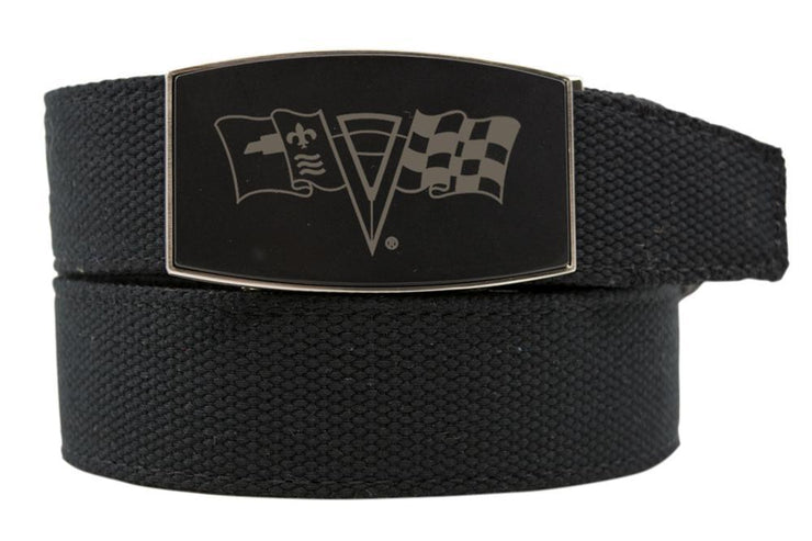 "Nexbelt Belt Black / Fits up to 50"" waist GM C2 Black Aston Black Canvas Strap Ratchet Belt"