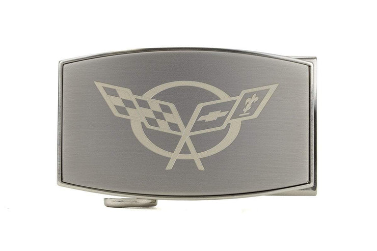"Nexbelt Classic Buckles Pewter / 1 3/4"" x 2 7/8"" GM C5 Pewter Aston Buckle"