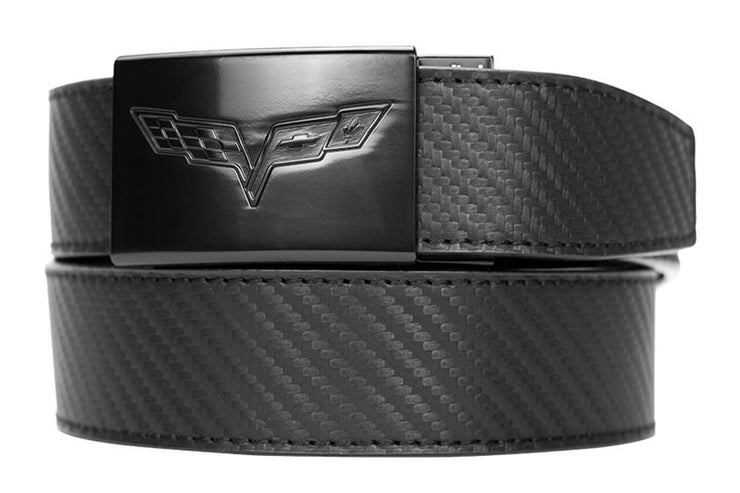 GM C6 Corvette Dress Belt Carbon Strap
